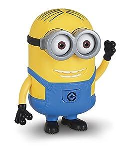 MINIONS - Figura Grande con Voz de Minion Dave, 18 cm (Bizak 61230420)