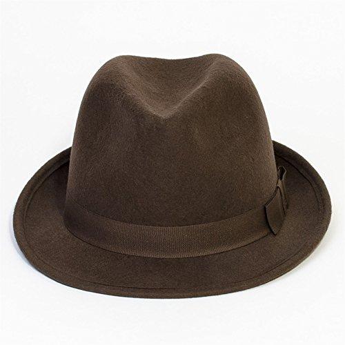 Chapeau en feutre Marron