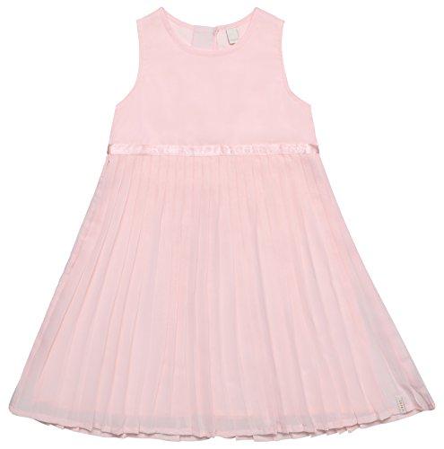 ESPRIT Mädchen Kleid RL3023302, Rosa (Pearl Rose 309), 128 (Herstellergröße: 128/134) (Kleid Rosa Kinder)