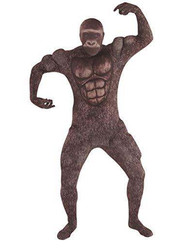 Generique - Costume Tuta da Gorilla per Adulto Morphsuits XXL (da 200 cm)