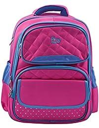 Nizami Ayre Nylon Kids Age Group (3 to 6 Years) Waterproof Pink School Bag 6bb96676e7