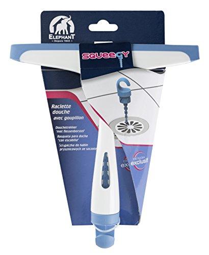 41LRfnipjXL - Elephant Rasqueta para ducha con rociador Squeegy