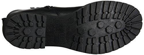 Moschino Damen W.Ankle Boot Stiefel Mehrfarbig (Black/Nickel)