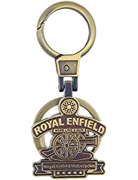 AutoStark GOL-10-Royal Enfield Metal Keychain For Royal Enfield
