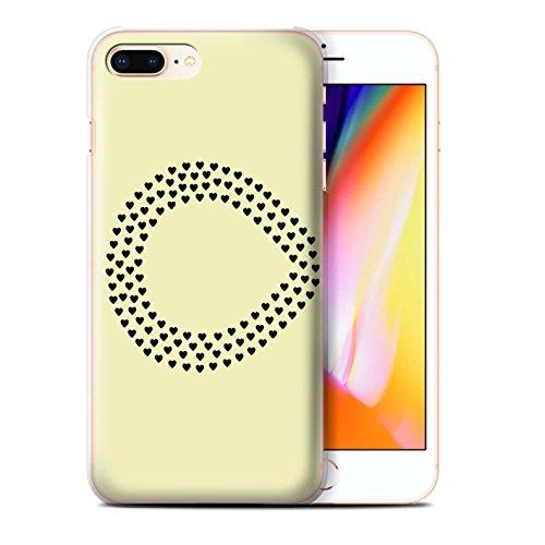 Stuff4 Hülle / Case für Apple iPhone 8 Plus / Daumen Vogel/Recht Muster / Sie & Mich Paare Kollektion Unendlichkeit/Links