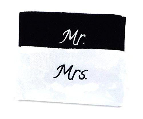 Bridal Shower Honeymoon Etiqueta para Equipaje Identificador para Maleta Etiqueta Luna de Miel Con Campo de Direcci/ón Despedida de Soltero Set Regalo de boda 2 pc. Etiqueta Mr /& Mrs