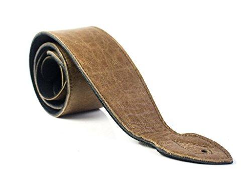 Echter Ledergitarrengurt verziert mit super weich super breit (9.25cm) -Design für akustische, elektrische oder Bassgitarren - Elektro-schlangen
