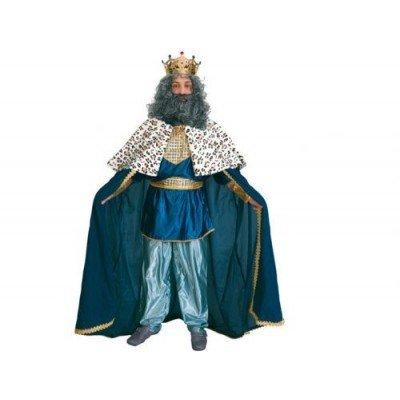 Imagen de disfraz de rey mago azul