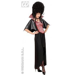 WIDMANN All4Yourparty Disfraz de halloween vampiresa adultos, talla 38 (S/56262)