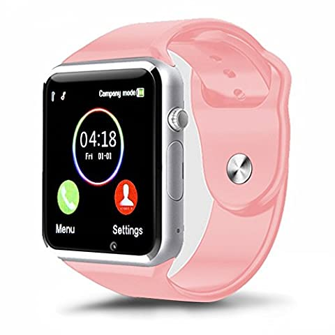 Kivors Bluetooth Smart Watch avec Sim Card Slot GSM Sport