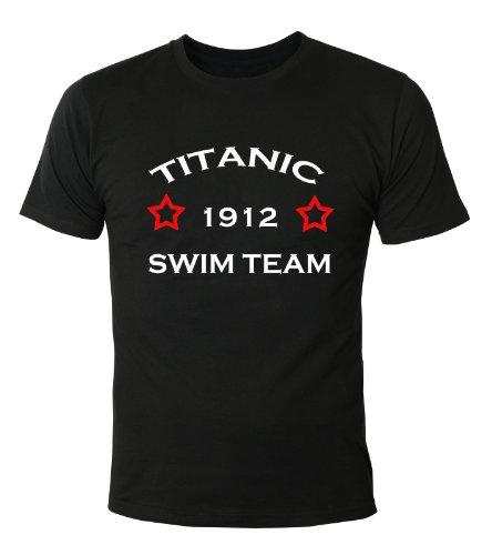Mister Merchandise T-Shirt Titanic Swim Team - Uomo Maglietta S-XXL - Molti Colori