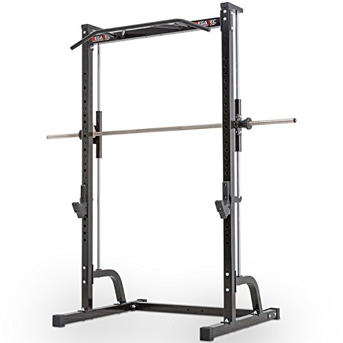 MegaTec Multipresse / Free-Rack mit Multi-Grip Klimmzugstation / Scheibenaufnahme 50 mm