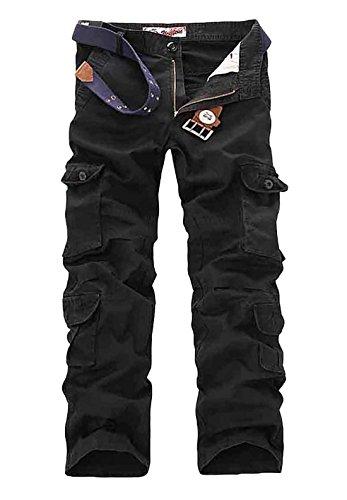 Cloudstyle Pantalon de travail style cargo - multipoches pour homme