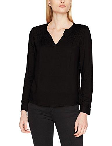 Q/S Designed by Damen Bluse 41709118312, Schwarz (Black 9999), 38