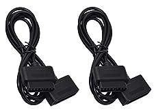 Twin Pack di 3rd Party SNES Controller Extension Cables per Super Nintendo