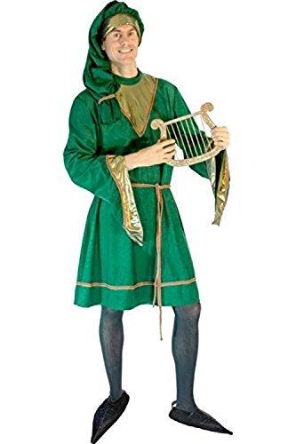 COSTUME TROUBADOUR SAMT GRÖSSE QS 54/56 50-52 (Kostüm De Troubadour)