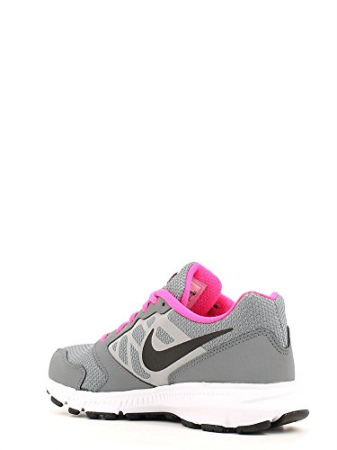 Nike Downshifter 6 (Gs/Ps), Chaussures de Sport Fille Gris (Gris (Cool Grey / Black-White-Pnk Blst))