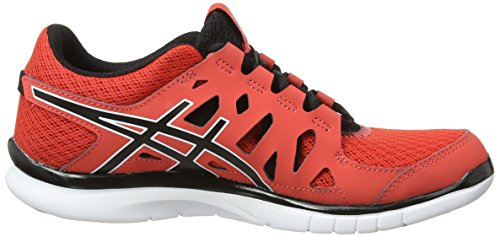 ASICS Gel-Fit Tempo, Chaussures de Fitness Femmes Orange (Hot Coral/Black/White 690)