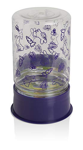 Lixit Animal Care Mini Rabbit Feeder Water Food Fountain Reversible Base 48oz