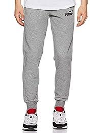 PUMA Essentials Logo TR Cl - Pantalones de Deporte Hombre