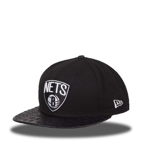 5950 Reptile Mix Brooklyn Nets OTC Fitted Cap multicolors