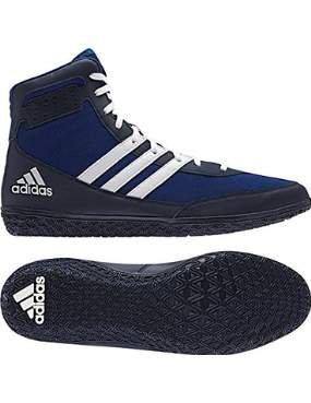 Adidas Tapis Wizard. 3 Wrestling Chaussures, Collegiate Bordeaux/Noir/doré, 4 m US - Multicolore - Royal White Navy,