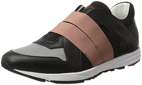 HUGO Damen Asya-v 10201909 01 Sneaker Schwarz (Black)