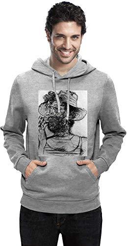 Medium Cone Top (Top Paintings of All Time Pablo Picasso - Man with Ice-Cream Cone Painting Men Hoodie Sweatshirt Stylish Fashion Fit Custom Apparel by Medium)