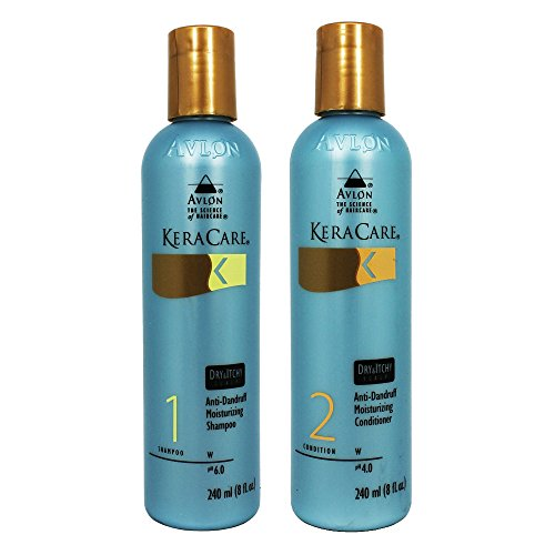 Keracare Dry and Itchy Shampoo and Conditioner combo set 8oz -
