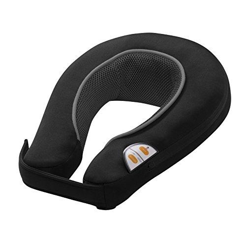 Medisana NM865 - Masajeador vibratorio para cuello y hombros, color gris oscuro