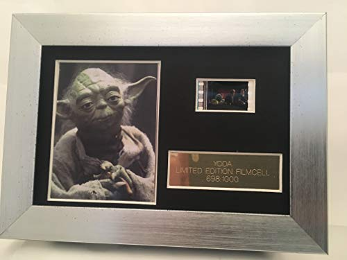 Star Wars YODA Limited Edition Film Cell m Ein Film Cell
