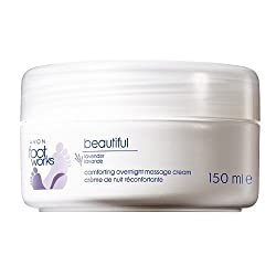 Avon Foot Works Beautiful Comforting Overnight Massage Cream, Lavender 150 Ml