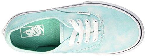 Vans Authentic, Baskets Basses Mixte Enfant Vert (Tie Dye/Turquoise)