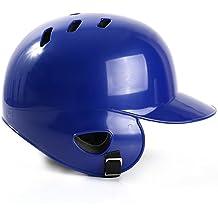 SUPW Casco de béisbol para bateo Converge sólido para Adultos, Resistente a los Golpes,