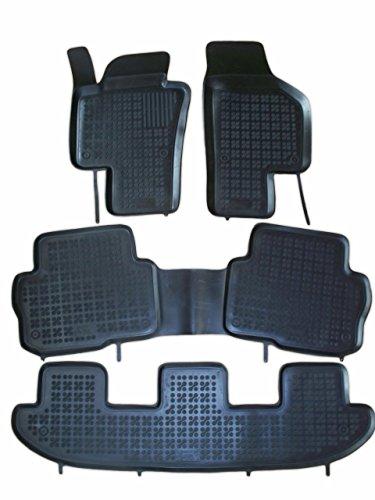Rezaw - Plast 200112 Negro Alfombras de goma, Premium alfombrillas de goma , borde 3 centímetros