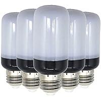 XHD-LED E27 5736 SMD 8W 700 ~ 800lm 81LED blanco frío cálido blanco LED luz de maíz AC 220 ~ 240V (5PCS) ( Color : Cool White )