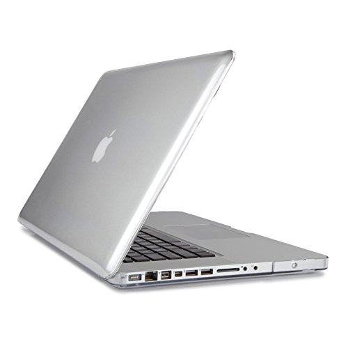 """PINDIA TRANSPARENT CRYSTAL FINISH APPLE MACBOOK PRO 13 13.3 """" HARD CASE SHELL COVER"""