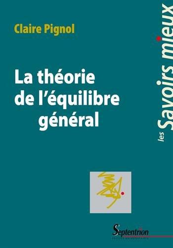 La théorie de l'équilibre général