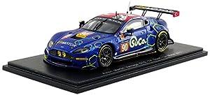 Spark-Miniatura de Coche Aston Martin Vantage lmgte Am le Mans 2017(Escala 1/43, S5841, Azul