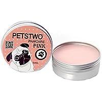 NaiCasy La nariz orgánica y la pata de perro Cera bálsamo hocico y del cojín del pie crema pomada hidratante para la piel seca o agrietada cachorro K9 ...