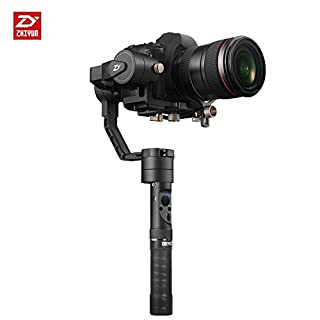 Zhiyun Crane Plus 3-Achsen Handheld Gimbal Stabilisator mit 2.5kg 5.5lb Payload, Zeitraffer Motion Memory, Objektverfolgung, POV-Modus und Nightlapse für Sony Panasonic Canon Nikon Fujifilm DSLR