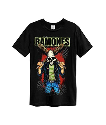 Amplified Shirt The Ramones Gabba Gabba Black -