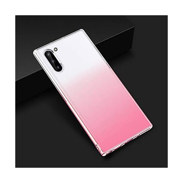 Oihxse Compatible with Samsung Galaxy S9+Plus Case Chic Clear Gradient Colour Design Ultra Slim Back Cover Skin, Soft Silicone Wireless Charge Shockproof Glitter TPU Bumper Shell-Transparent Pink Oihxse 🌈 Slim fit with [Samsung Galaxy S9+Plus ONLY], do not fit for other models. This rubber silicone gel is easily access to all buttons and ports such as headphone jack, charger port, volume button, mute key, etc, while keeps the Samsung Galaxy S9+Plus sensitive response. 🌈 Designed as ultra thin chic [Crystal Clear Gradient Colour] appearance, not only can show the beauty of original smart phone, but also adds more unique taste and stylish sense. 🌈 Made from Soft [Shock Absorbing TPU]material, nontoxic and tasteless, which can protect your Samsung Galaxy S9+Plus from scratches, bumps, impacts, fingerprints and dings. 2