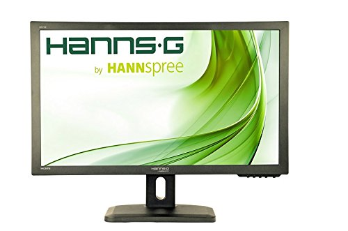 HannsG HP278UJB 27-Inch Height Adjust DisplayPort HDMI HS-IPS Monitor - Black