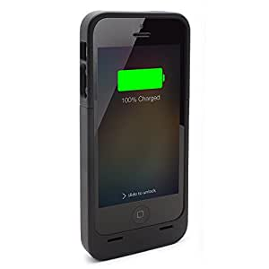 Meridian iPhone 5 Rechargeable Extended Battery Case for iPhone 5 - AT&T Sprint Verizon - Black