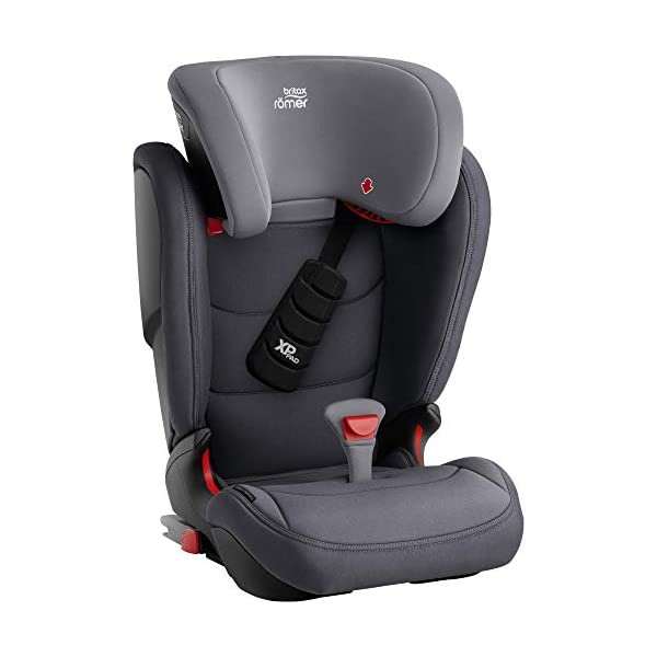 Britax Römer car seat 15-36 kg, KIDFIX Z-LINE Isofix Group 2/3, Storm Grey Britax Römer Made in germany Outstanding security concept - xp-pad and secureguard Ideal inside dimensions and seat - for extra comfort and excellent ergonomics 3