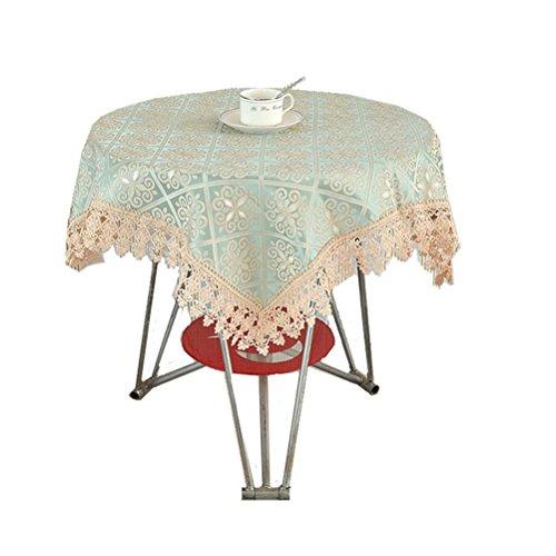 48 Zoll Breite Rechteckiger Tisch (GUOCAIRONG® Tischdecke Hochwertige Textilprodukte Tischdecke Hübsche Blumen Runde Tischtücher Wasserdichtes ölbeständiges Hotel Supplies Outdoor , 100*100cm)