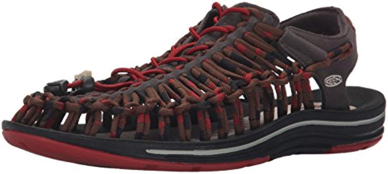 Keen Herren Uneek Stripes Sandalen Trekking  WanderschuheKeen Sandalen Trekking Wanderschuhe Mehrfarbig Billig und erschwinglich Im Verkauf