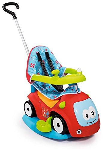 Smoby Toys, 720400, Porteur Maestro Confort avec Roues Silencieuses, 4 en 1, Klaxon 3 Mélodies, Rouge 3032167204004