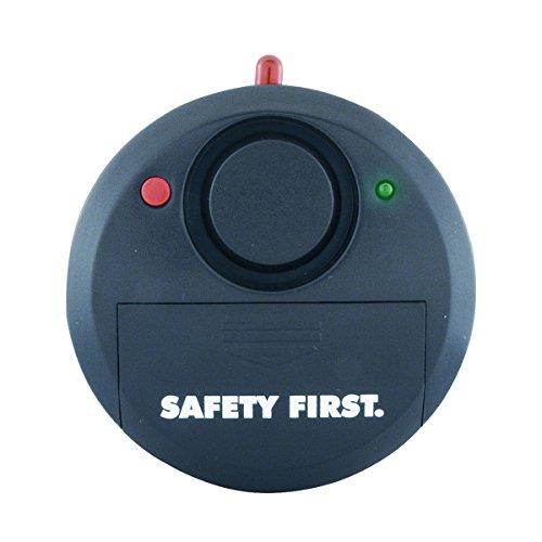 kh security Glasbruchalarm Safety First, schwarz, 100111